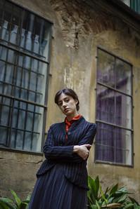 19355 - Jacket Veronica 19369 Shirt Caroline 19381 - Skirt Jamie