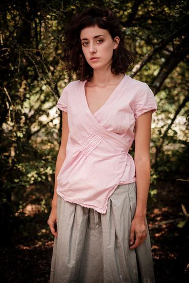 19161 - cotton shirt Catharina 19162 - cotton skirt Jenny