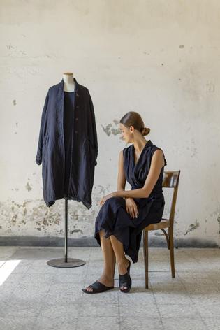 21174 - Coat Mara 21111 - Dress Rosamaria