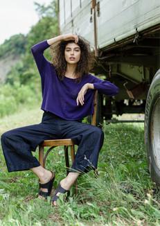 S2071-fine cashmere roundneck pullover