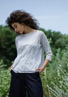 S2003-cotton/steel double t-shirt