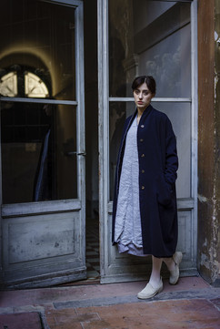 19306 - Coat Corinne 19344 - Dress Delina