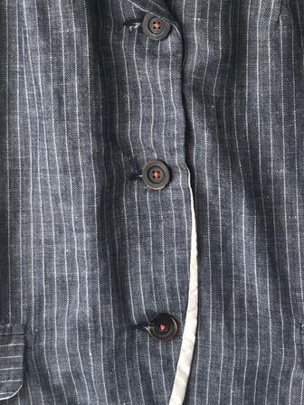 S20114 Jacket Vilma  (detail) 51% LI + 49% CO Price : 485 $