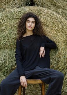 S2012-cotton squared pullover