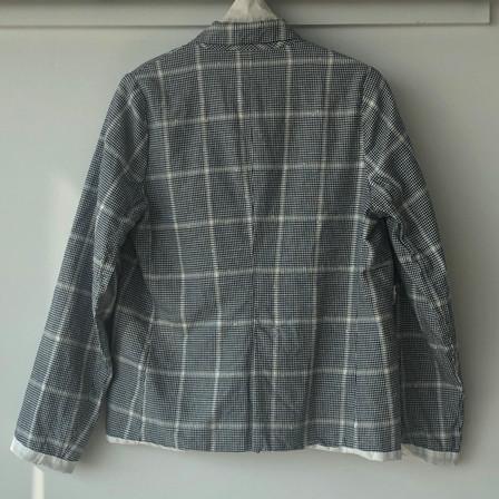 S 20100 - Jacket Valentina (back) 68%CO + 30% LI + 2% PL Price : 609 $
