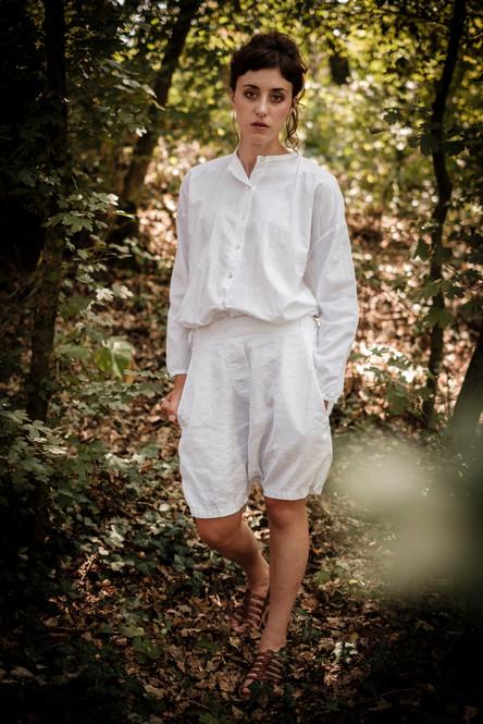 19149 - cotton shirt Carine 19139 - cotton linen pants Philipine