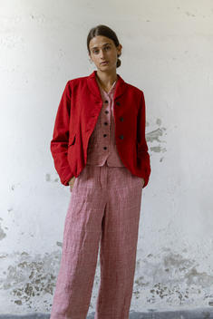 21105 - Jacket Velia 21115 - Gilet Grazia 21117 - Pants Petronilla