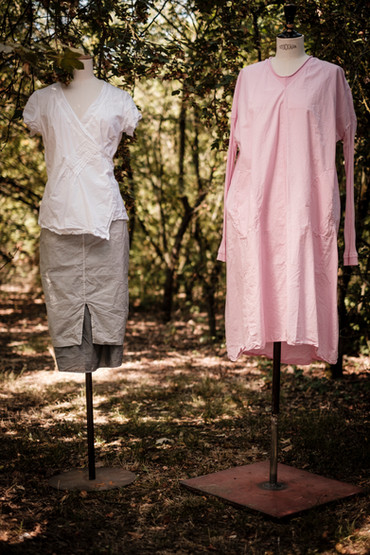 19161 - cotton shirt Catharina 19131 - cotton skirt Joele 19153 - cotton dress Rubina
