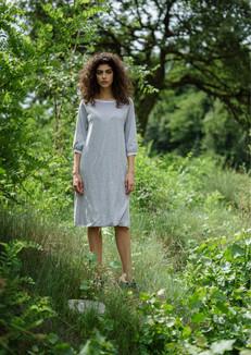 S2018-cotton double-side dress