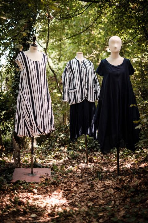 19143 - cotton dress Ruffine 19142 - cotton jacket Valeska 19174 - cotton skirt Jofrette 19172 - cotton dress Rafia
