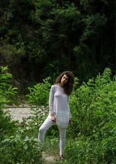 S2040-cotton large pullover S2057-cotton pants