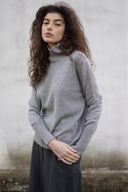 FW1920 - cashmere/silk high neck