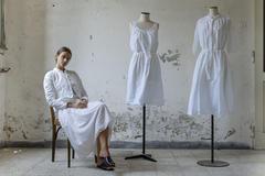 21129 - Jacket Valeria  21140 - Dress Regina  21144 - Dress Romilda