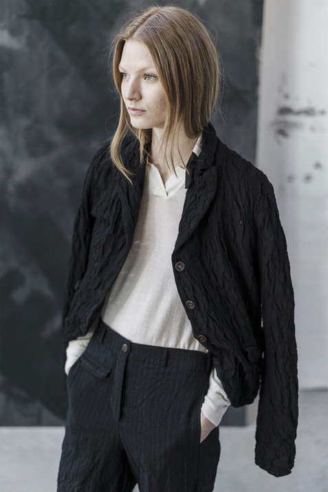 21327 - Jacket Giusy group 6 crushed 21407 - Pullover Katrin  group 15 knit 21311 Pants Tania  group 2 linen wool