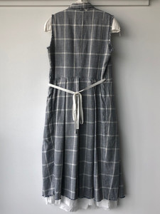 S20102 - Dress Ryzlene (back) 68%CO + 30% LI + 2% PL Price : 622 $
