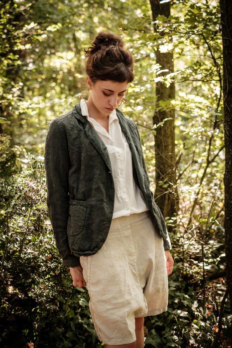 19122 - linen jacket Violetta 19158 - cotton shirt Caroline 19139 - cotton linen pants Philipine
