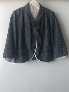 S20114 - Jacket Vilma 51% LI + 49% CO Price : 485 $