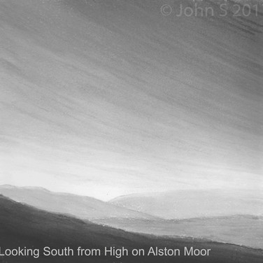 Looking South from High on Alston Moor