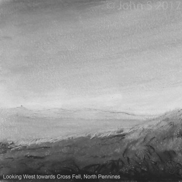 Looking West towards Cross Fell, North Pennines