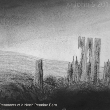 Remnants of a North Pennine Barn