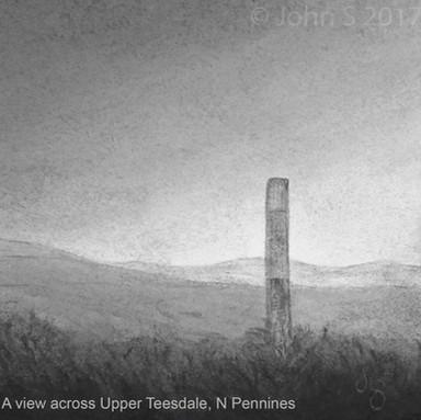 A view across Upper Teesdale, N Pennines
