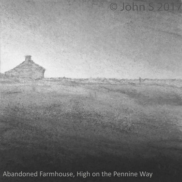 Abandoned Farmhouse, High on the Pennine Way
