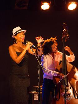 Trio Faby Medina à Jazz à Blet