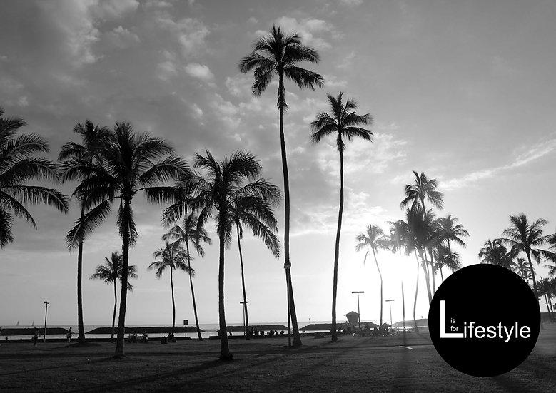 Hawaii Nights, Initial Print