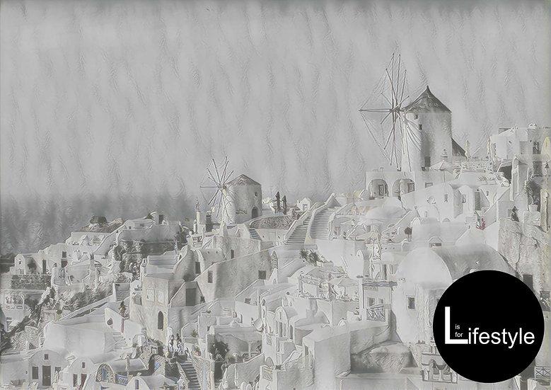 Santorini - Vintage feel, Collided Version