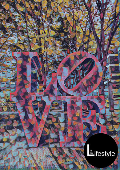 Japan x NZ - LOVE sign, Collided Version