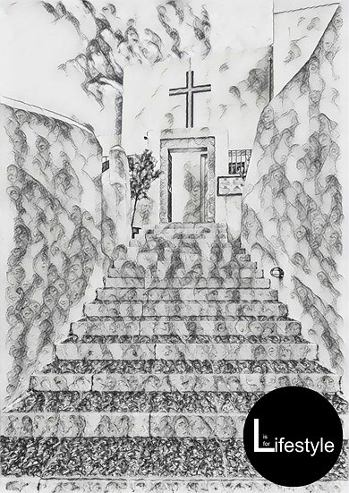 Santorini - Steps to the Church, Collided Version