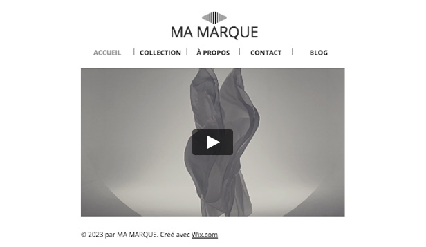 Design website templates – Ma Marque