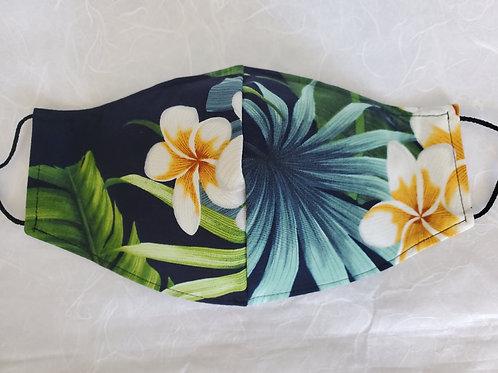 Plumeria Hawaiian - Black