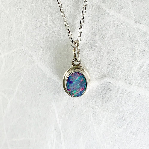 Australian Opal Necklace