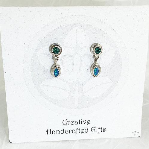 Australian Opal Earrings