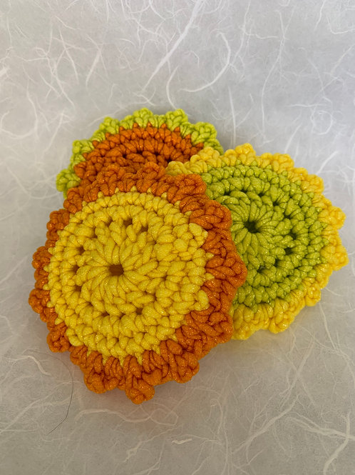 Lace Edged Kitchen Scrubbies