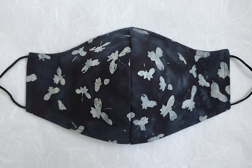 Butterly Floral Charcoal