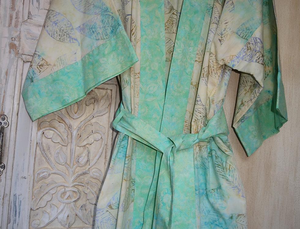 Artsy Kimono Robe  - Small