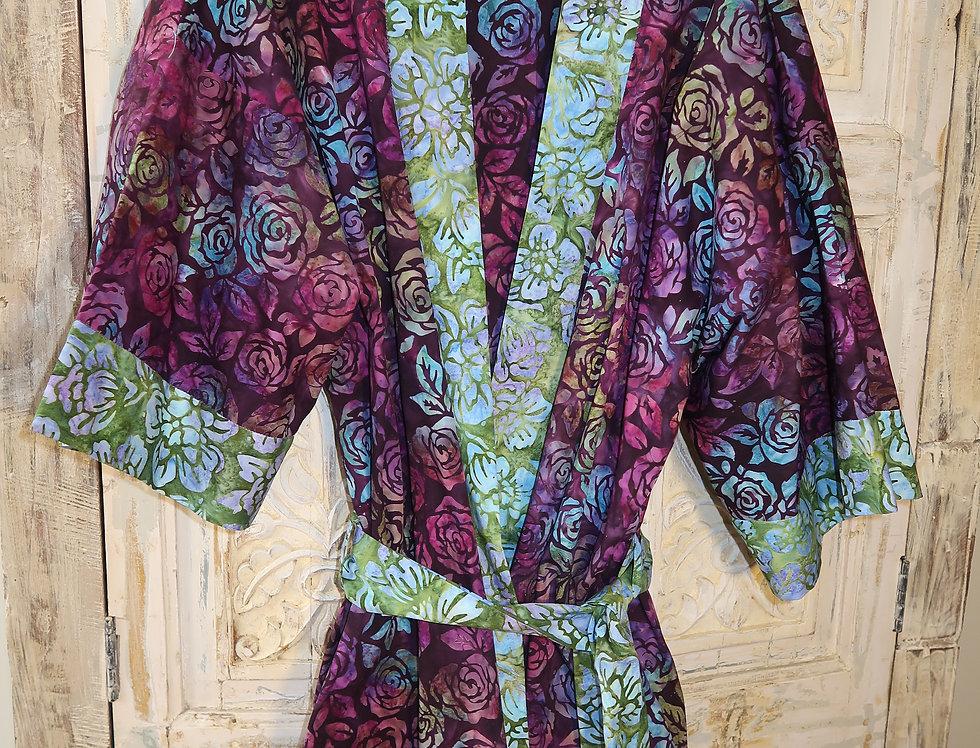 Artsy Kimono Robe-size Medium