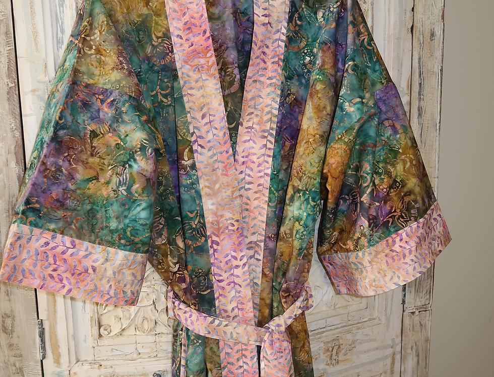 Artsy Kimono Robe-size Large