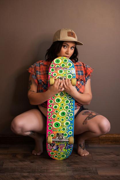 hot skateboard photo
