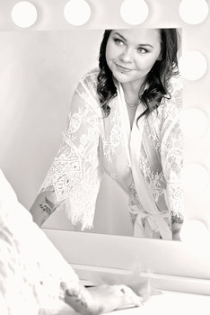 makeup table portrait photo