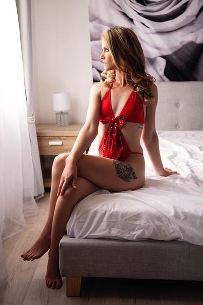 dramatic lighting lingerie image