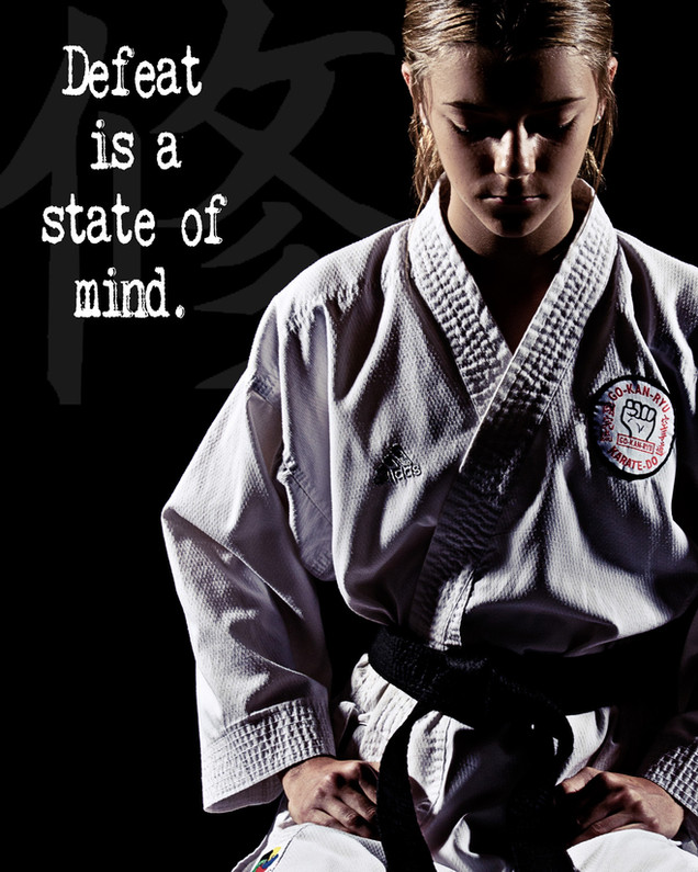 karate portraits