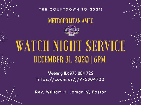 Watch Night 2020