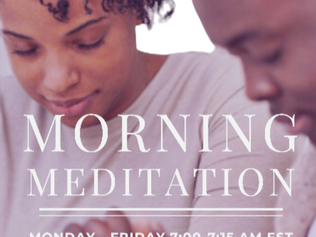 Special Meditation with Bishop James Davis