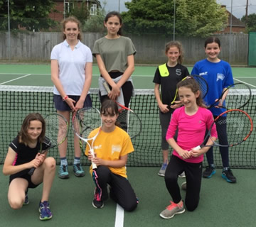 girls coaching SPTC