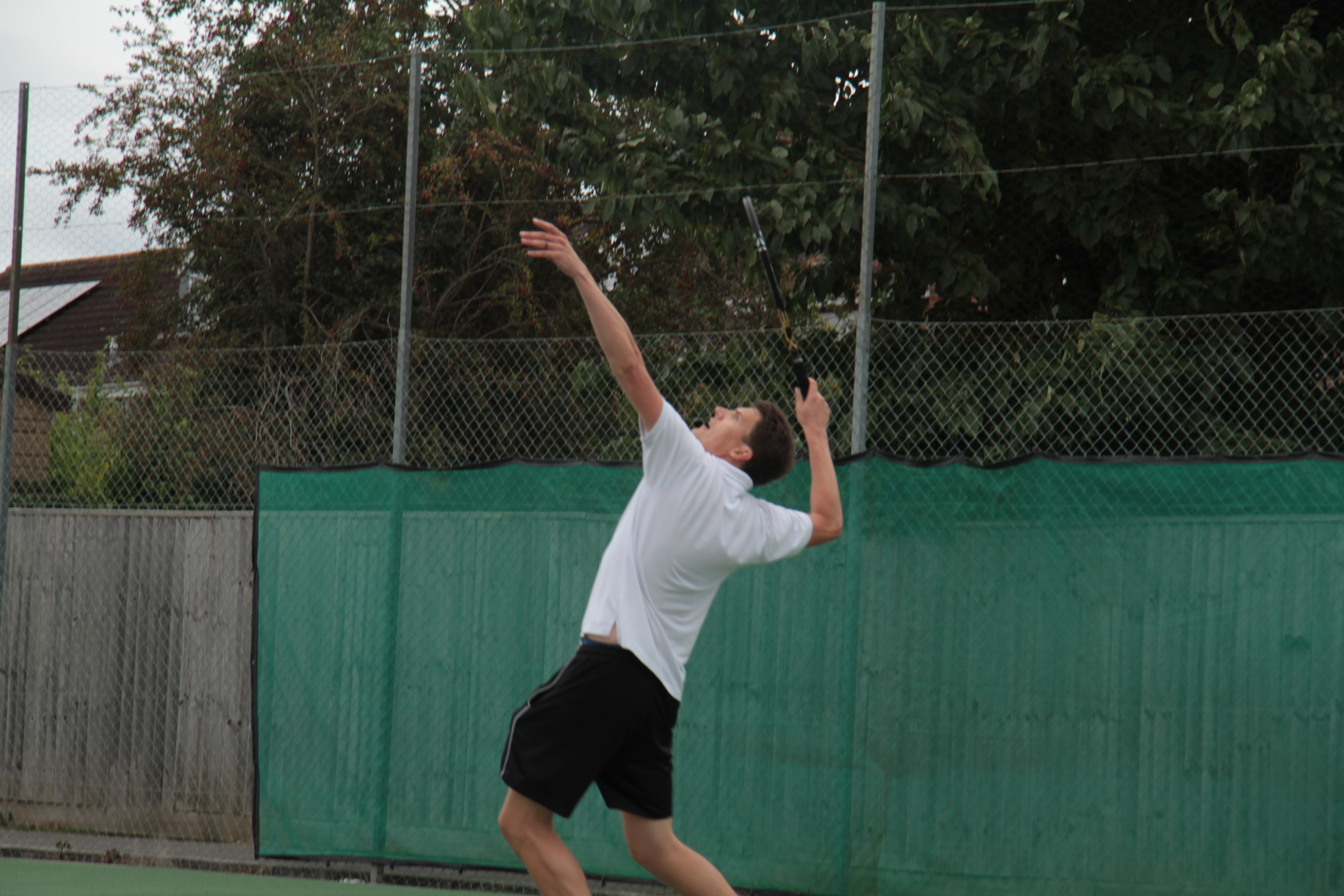 Christoph serving