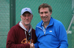 Paul and Plate winner Gary