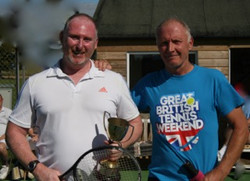 Singles winner Paul and Matthew